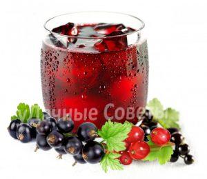чай со смородиной, полезные свойства