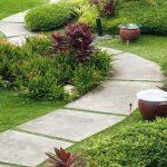 садовая дорожка на даче 3