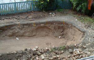 яма под пруд на даче своими руками