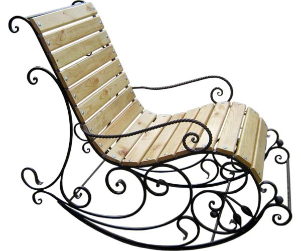 кованая мебель кресло