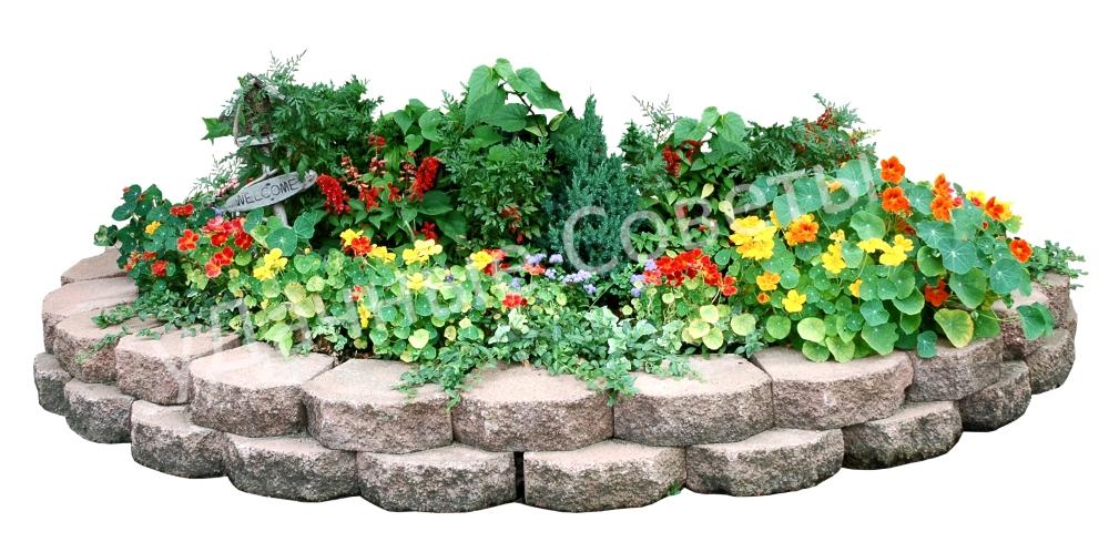многоуровневая клумба для дачи или сада своими руками